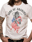 Official Sons Of Anarchy (Reaper Logo USA) T-shirt - All sizes