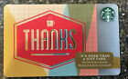 2014 Starbucks Gift Card 99 Series Thanks New Unused Collectible