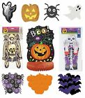 HALLOWEEN PARTY Hanging Decorations CUTOUTS & Table CENTREPIECES