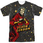 Flash Gordon Blast Off Allover Sublimation Licensed Adult T Shirt