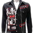 Sz S M L XL 2XL Ac/dc Long Sleeve Shirt Punk Rock Tee Many Size Jac5