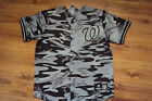 BRYCE HARPER WASHINGTON NATIONALS NEW MLB MAJESTIC CAMOUFLAGE JERSEY