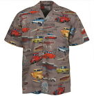Chevy Classic Pickup Trucks Camp Hawaiian Shirt by David Carey