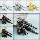 Approx 15-30Pcs Normal Filigree Cone Beads Caps 40x8x8mm DIY Jewelry Findings