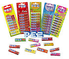 PEZ - Candy REFILLS (Pack of 8) Fruit/Fizzy/Cola/Mango/Sour (Sweets/Kids/Gift)