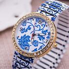 Printing Alloy WristWatch Diamond Elasticity Stainless Steel Quartz Watches MSYG