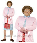 M/L Official Mrs Brown's Boys Costume + Wig + Glasses TV Mens Fancy Dress Outfit
