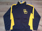 SAN DIEGO PADRES NEW MLB MAJESTIC COOPERSTOWN TRUE CONTENDER TRACK JACKET on Ebay