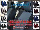 Coverking Neosupreme Custom Fit Front & Rear Seat Covers for Jeep Renegade