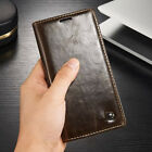 Luxury Flip Men's Leather Wallet Magnetic Case Cover For Samsung Galaxy S8 Note8