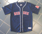 Majestic Boston Red Sox Youth Navy Blank Back Jersey New with Tags