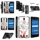 FOR SAMSUNG GALAXY PHONES CASE RUGGED ARMOR HYBRID HOLSTER - Alluring Aroma
