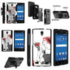 FOR SAMSUNG GALAXY PHONES CASE RUGGED ARMOR HYBRID HOLSTER - Girl with Gift