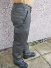 German Army Thermal Lined Moleskin Trousers Black or Drab Green