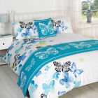 Polilla Butterflies Duvet Quilt Bedding Bed in a Bag Cushion Cover Runner
