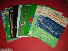 1960-1984 FA CUP FINAL PROGRAMMES - CHOOSE FROM LIST