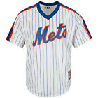 New York Mets Cooperstown Cool Base MLB Pinstripe Jersey 1969 Large
