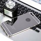 New Luxury Ultra-thin Metal Frame Mirror Cover Case for iPhone 6 Plus 6s Plus