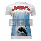 Men's Jaws Movie Inspired Poster Fitted or Classic T-shirt