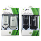 2X 4800mAh Battery + 1X Charger + Charging Dock Station For Xbox 360 Controller