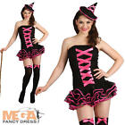 Bewitched Tutu Witch Fancy Dress Ladies Halloween Witches Adulst Costume Outfit
