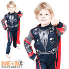 Kids Deluxe Thor Superhero Boys Marvel Avengers Fancy Dress Childrens Costume