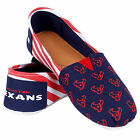 Houston Texans 2016 Womens Canvas Stripe Shoes