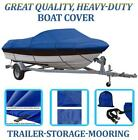 BLUE+BOAT+COVER+FITS+EXCEL+18+DX+BOWRIDER+O%2FB+1994