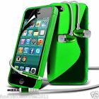 S-Line Wave Gel Case✔In Ear Stereo Headset for Apple iPhone SE 5s 5