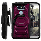 For LG G5 Cover | Clip + Holster + Case Combo Kickstand Dinosaur Theme