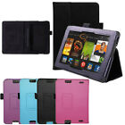 Leather Smart Case Cover for Amazon Kindle Fire HD 6 7 Sleep Wake 2013/14 UK