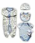 5 Piece BABY BOY Gift Set-Presented in mesh Gift Bag-By Bonjour Babe! SALE