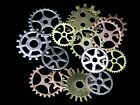 Steampunk Cyberpunk Jewellery Cogs &amp; Gears Watch Parts Craft Arts Jewellery ML  <br/> **CHEAPEST ON EBAY** QUALITY MIXED SIZE COGS / GEARS**