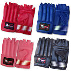 Rex Leather Cut Finger Boxing Mitts Bag Gloves Punch bag Training Gloves Mitts
