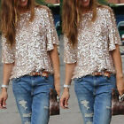 New Sexy Women Loose Sequin Bling Shiny T Shirt Blouse Short Sleeve Casual Tops