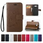 Flip Credit Cards Slot Holder Stand Leather Wallet Case Cover For Samsung Galaxy