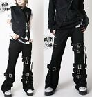 Unisex Visual Punk ROCK Goth Cosplay Pants Trousers XL