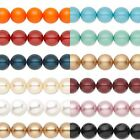 Kyпить Lot of 10 Smooth Round Swarovski Crystal Loose Pearl Beads Small - Big (5810) на еВаy.соm