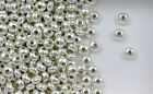925 Sterling Silver 5mm Plain  Rondelle or Saucer Beads, Choice of Lot Size