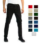Alta Designer Fashion Mens Stretch Slim Straight Fit Skinny Denim Jeans