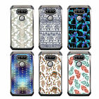 For Galaxy S7 Edge DSC HYBRID TPU Hard Case Silver White 8Colors