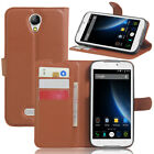 Fashion PU Leather Case Stand Cover Skin For 5.5inch Doogee X6 X6 Pro Cellphone