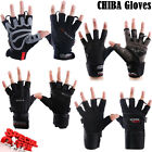 CHIBA Weight Lifting Wrist Support StrapsBodybuilding Gym Fitness Gloves Mitts