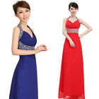 Women Sexy Long Evening Ball Prom Gown Formal Bridesmaid Cocktail Party Dress