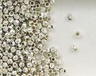 925 Sterling Silver 2.5mm Round  Mirror Beads, Choice of Lot Size & Price