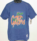 Vintage 90's UF University Florida GATORS The GAME T-Shirt NWT Blue NOS Large