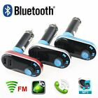 Wireless Bluetooth Car Kit FM Transmitter SD/TF/AUX/USB MP3 Music Player Charger