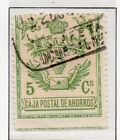 Spain Fiscal Timbre Movil 1918 Early Issue Fine Used 5c. 060096