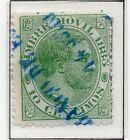 Spain Fiscal Timbre Movil 1882-1903 Early Issue Fine Used 10c. 060075