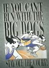 Tee Shirt Heather Grey Can't Run Big Dogs Stay Off Court Basketball 2X 3X PUR